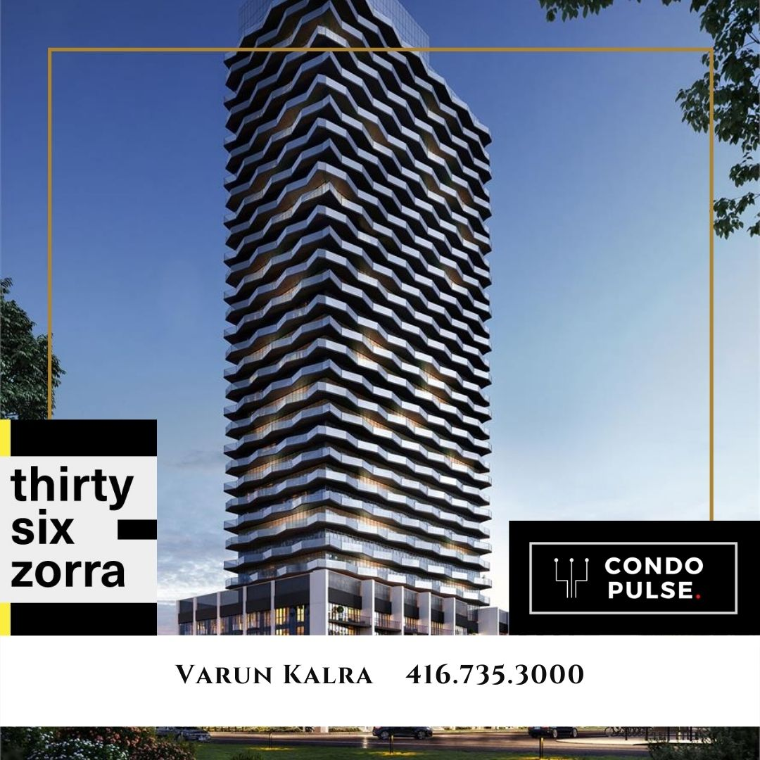 Thirty Six Zorra Condos Toronto