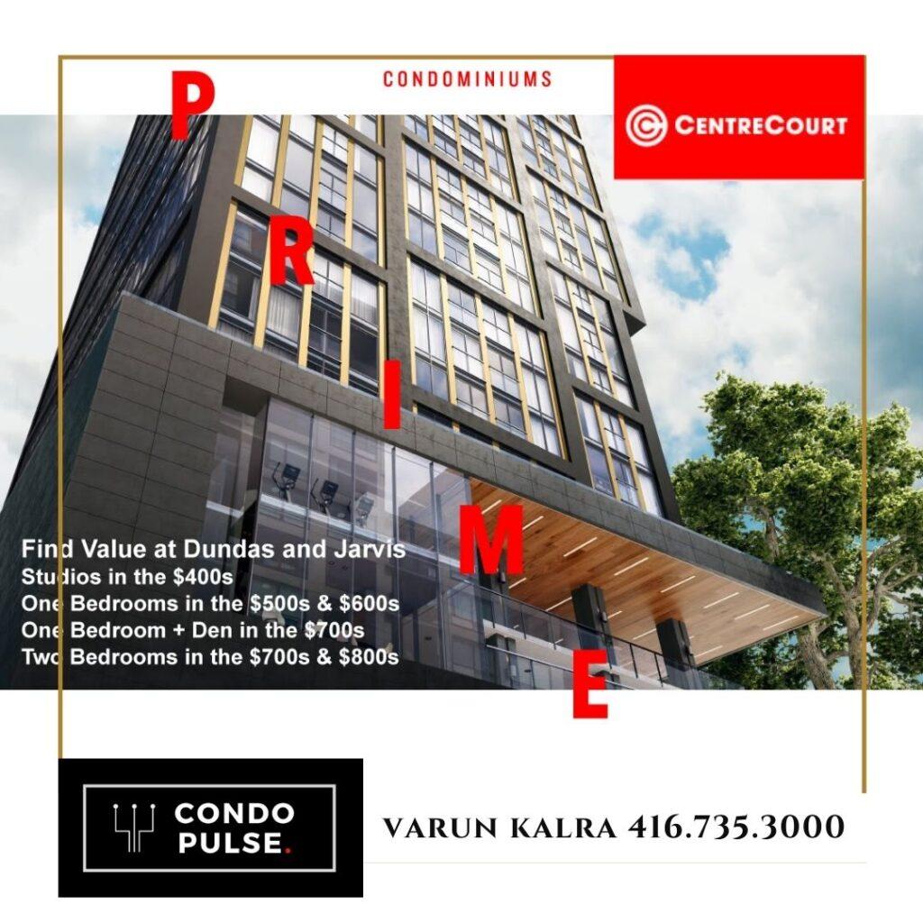Prime Condos Toronto Preconstruction Pricing, Floor Plans